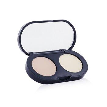 Bobbi Brown Set Corrector New Creamy  - Corrector Crema Marfil + Polvos Prensados Amarillo pálido  3.1g/0.11oz