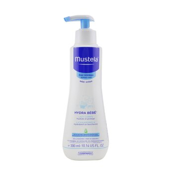 Mustela Hydra-Bebe Loción Corporal - Piel Normal  300ml/10.14oz
