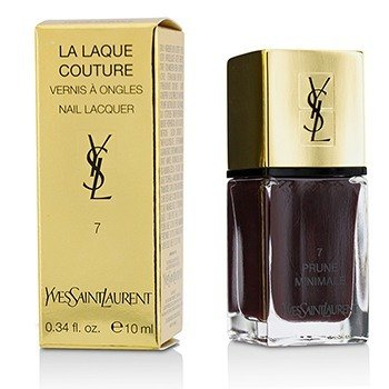 Yves Saint Laurent La Laque Couture Laca de U�as - # 7 Prune Minimale  10ml/0.34oz