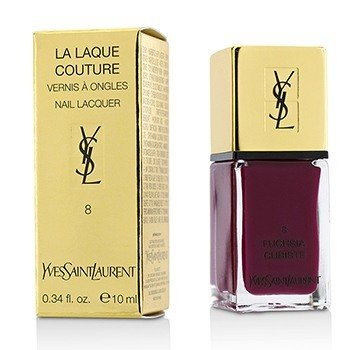 Yves Saint Laurent La Laque Couture Nail Lacquer - # 8 Fuchsia Cubiste  10ml/0.34oz