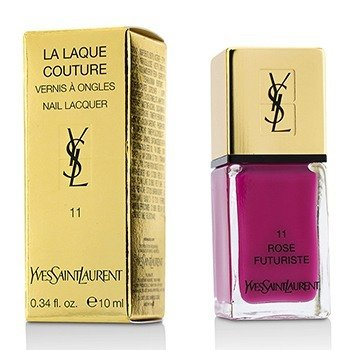 Yves Saint Laurent La Laque Couture Nail Lacquer - # 11 Rose Futuriste  10ml/0.34oz