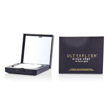 Fusion Beauty Ultraflesh Ninja Star 18 Karat Gold Dual Finish hidratáló púder - # Incandescent  7.7g/0.27oz