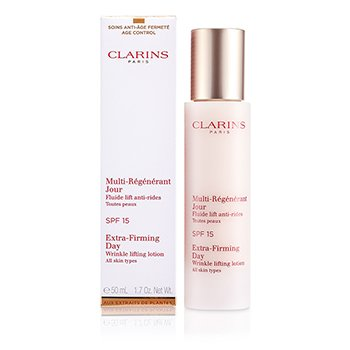 Clarins Extra-Firming Day Wrinkle Lifting Lotion SPF 15 - All Skin Types  50ml/1.7oz