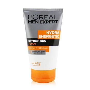 L'Oreal Men Expert Hydra Energetic Spumă Detoxifiantă  100ml/3.4oz
