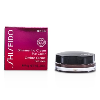 Shiseido Shimmering Cream Eye Color - # BR306 Leather  6g/0.21oz
