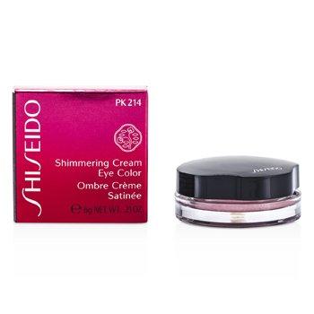 Shiseido Crema Brillante Color de Ojos - # PK214 Pale Shell  6g/0.21oz