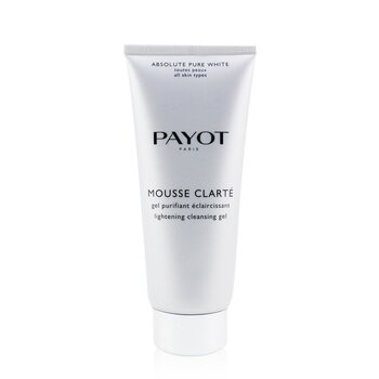 Payot Rozjaśniający żel do mycia twarzy Absolute Pure White Mousse Clarte Lightening Cleansing Gel  200ml/6.7oz