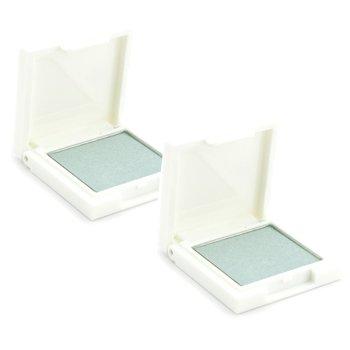 Korres Sombra de Ojos Duo Pack - # 42S Green White (Brillo)  2x1.8g/0.06oz