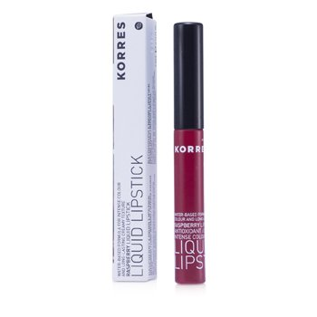 Korres Batom liquido Raspberry Antioxidant Liquid Lipstick - #56 Red  3.5ml/0.12oz