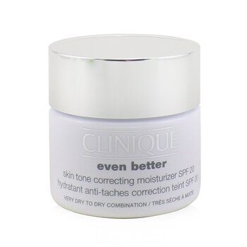 Clinique Even Better Skin Tone Correcting Pelembab SPF 20 (Kulit Sangat Kering ke Kombinasi Kering)  50ml/1.7oz