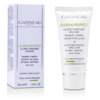 Gatineau Pó Clear & Perfect Purifying Powder Emulsion (pele oleosa/mista)  50ml/1.6oz