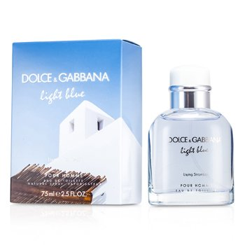 Dolce & Gabbana Light Blue Living In Stromboli Eau De Toilette Spray  75ml/2.5oz