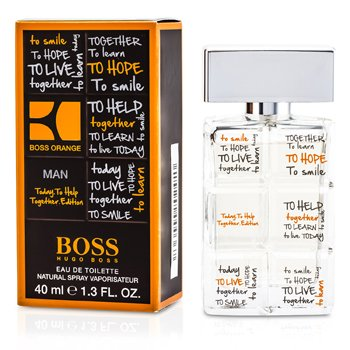 Hugo Boss Orange Charity Eau De Toilette Spray  40ml/1.3oz
