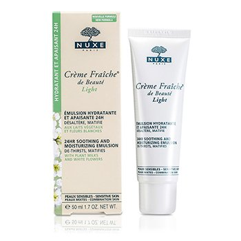 Nuxe Creme Fraiche De Beaute Light 24HR Emulsión Calmante e Hidratante (Piel Sensible y Mixta)  50ml/1.7oz