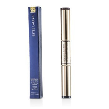 Estée Lauder Rimel Sumptuous Two Tone Eye Opening Mascara - # 01 Bold Black/Rich Brown  2x3ml/0.09oz