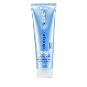 Rusk Deepshine Color Hydrate Champú Hidratante Libre de Sulfatos  250ml/8.5oz