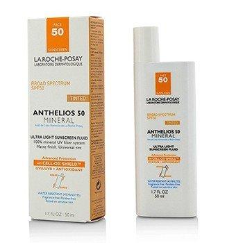 La Roche Posay Ochronna emulsja do twarzy Anthelios 50 Mineral Tinted Ultra Light Sunscreen Fluid  50ml/1.7oz
