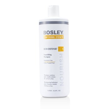 Bosley Professional Strength Bos Defense Nourishing Shampoo (For Normal to Fine Color-Treated Hair)  1000ml/33.8oz