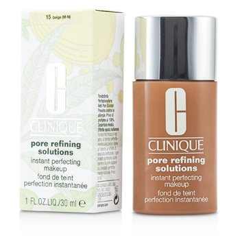 Clinique Pore Refining Solutions Instant Maquillaje Perfeccionador - # 15 Beige (M-N)  30ml/1oz