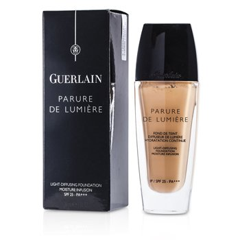 Guerlain Parure De Lumiere Light Diffusing Base Maquillaje Fluida SPF 25 - # 02 Beige Clair  30ml/1oz