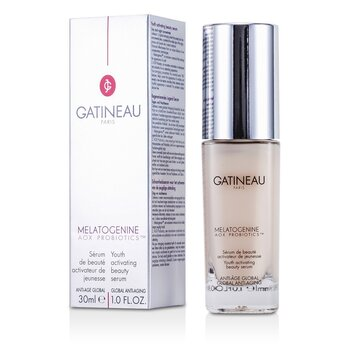 Gatineau Odmładzające serum do twarzy z antyoksydantami i probiotykami Melatogenine AOX Probiotics Youth Activating Beauty Serum  30ml/1oz