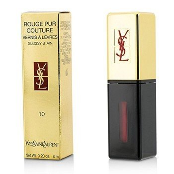 Yves Saint Laurent Rouge Pur Couture Vernis a Levres Glossy Stain - # 10 Rouge Philtre  6ml/0.2oz