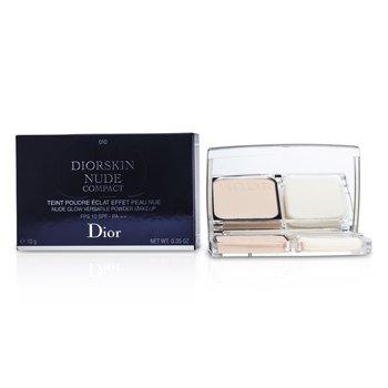 Christian Dior Diorskin Nude Compact Nude Glow Versatile Powder Makeup SPF 10 - # 010 Ivory  10g/0.35oz