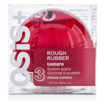 Schwarzkopf Osis+ Rough Rubber Texture Rubber Paste (Fuerte Control)  50ml/1.69oz