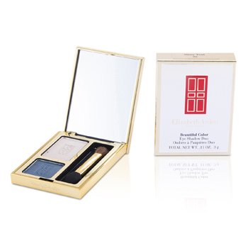 Elizabeth Arden Beautiful Color Sombra de Ojos Duo - # 06 Misty Teal  3g/0.11oz