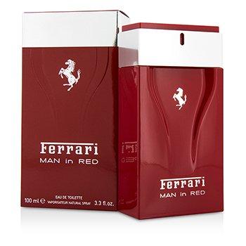 フェラーリ Ferrari Man In Red Eau De Toilette Spray  100ml/3.3oz