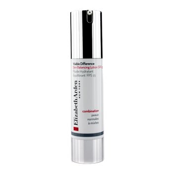 Elizabeth Arden Visible Difference Skin Loción Balance SPF 15 (Piel Mixta)  49.5ml/1.7oz