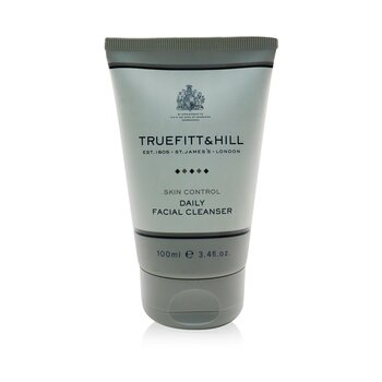 Truefitt & Hill Skin Control Jabón Facial Diario  100ml/3.4oz