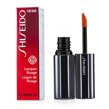 Shiseido Batom Lacquer Rouge - # OR508 (Blaze)  6ml/0.2oz