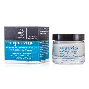 Apivita Aqua Vita 24H Crema Hidratante (Piel Normal/Seca)  50ml/1.76oz