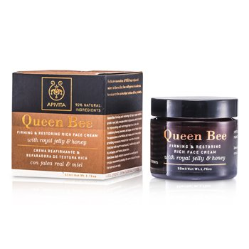 Apivita Queen Bee Crema Rostro Reafirmante y Restauradora  50ml/1.76oz