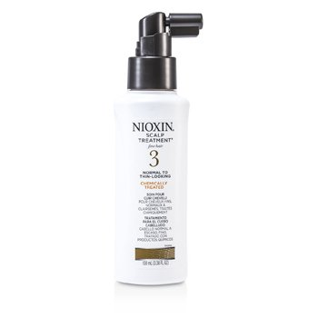 Nioxin System 3 Scalp Treatment For Fine Hair, Chemically Treated, Normal to Thin-Looking Hair  100ml/3.38oz