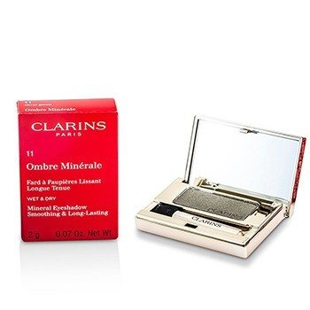 Clarins Ombre Minerale Smoothing & Long Lasting Mineral Eyeshadow - # 11 Silver Green  2g/0.07oz