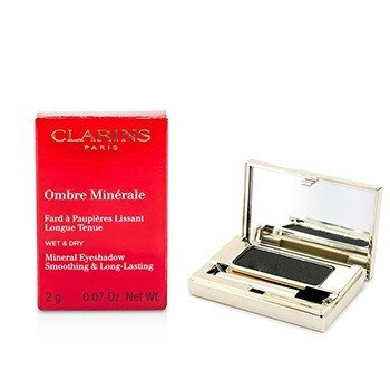 Clarins Ombre Minerale Smoothing & Long Lasting Mineral Eyeshadow - # 15 Black Sparkle  2g/0.07oz