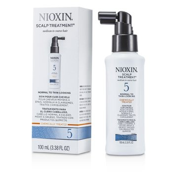 Nioxin System 5 Scalp Treatment For Medium to Coarse Hair, Normal to Thin-Looking Hair  100ml/3.38oz