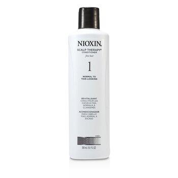 Nioxin System 1 Scalp Therapy Balsam Pentru Păr Fin, Normal Spre Subţiat  300ml/10.1oz