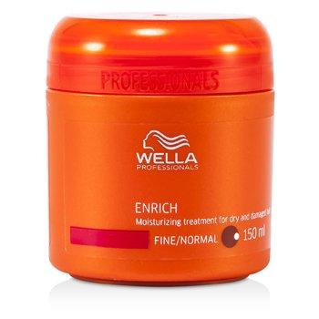 Wella Tratamiento Hidratante para cabellos Secos y Dañados (Finos/Normales)  150ml/5oz