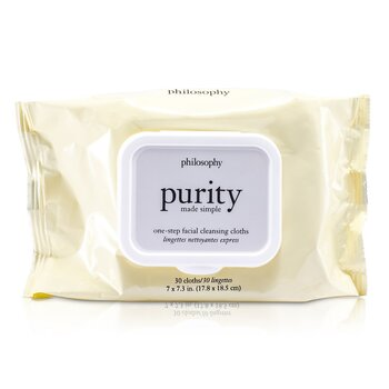 Philosophy Purity Made Simple One-Step Facial Cleansing Cloths  30towlettes