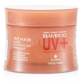 Alterna Bamboo UV+ Color Protection Rehab Deep Hydration Masque (For Strong, Vibrant, Color Protected Hair)  150ml/5oz