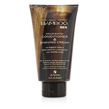 Alterna Bambo Men Nourishing Conditioner & Shaving Cream  250ml/8.5oz