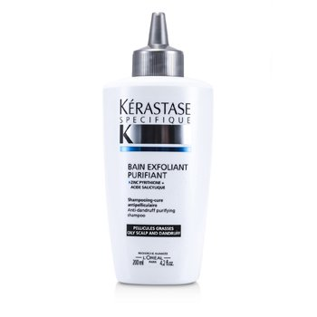 Kerastase Specifique Bain Exfoliant Purifiant Anti-Dandruff Purifying Shampoo (For Oily Scalp)  200ml/6.8oz