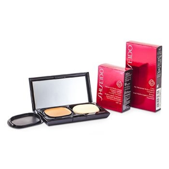 Shiseido Advanced Hydro Liquid Compact Foundation SPF10 (Case + Refill) - I100 Very Deep Ivory  12g/0.42oz