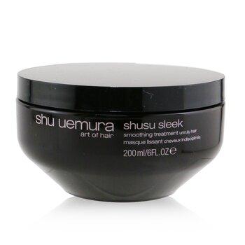 Shu Uemura Shusu Sleek Tratamiento Mascarilla Suavizante (Cabello Encrespado)  200ml/6oz