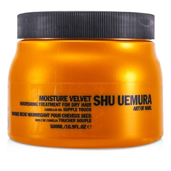 Shu Uemura Moisture Velvet Nourishing Tratamiento Mascarilla Nutriente (Cabellos Secos) (Producto Sal�n)  500ml/16.9oz