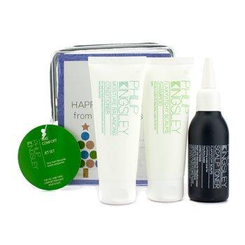 Philip Kingsley Take Comfort Jet Set: Shampoo 75ml + Conditioner 75ml + Flaky/Itchy Scalp Toner 75ml  3pcs