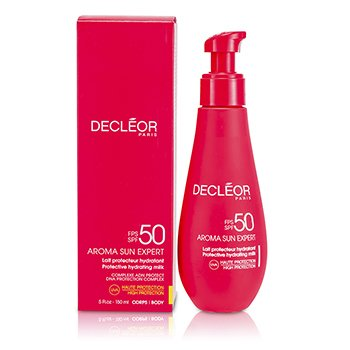 Decleor Leite hidratante Aroma Sun Expert Protective Hydrating Milk High Protection SPF50  7610  150ml/5oz
